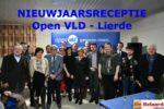 Nieuwjaarsreceptie 2019 - Bestuur Open VLD Lierde samen met enkele genodigden.
