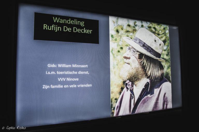 Kunstenaar en volkszanger Rufijn De Decker