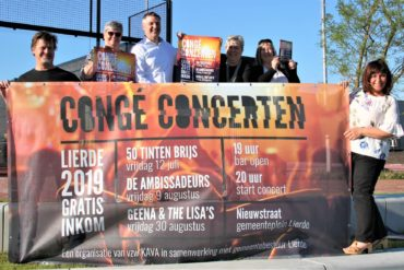 spandoek Congé Concerten